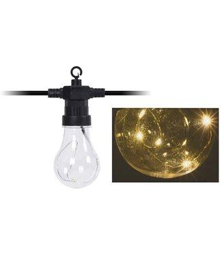 Feestverlichting 20 LED-lampen - met timer - op batterij