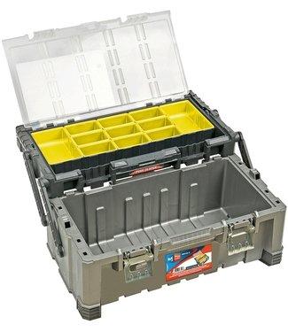 WorkMen Gereedschapkoffer XL - 56x31x25cm