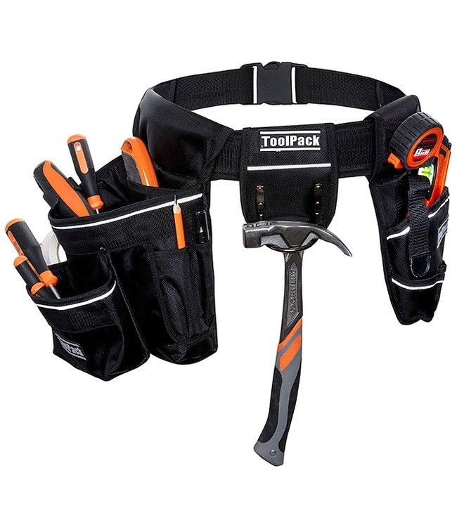 ToolPack Robuuste gereedschapsgordel met 2 holsters