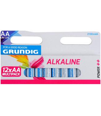 Grundig Alkaline batterijen AA set van 12