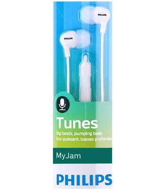 Philips SHE3555WT/00 In-ear oordopjes met microfoon wit