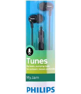 Philips SHE3555BK/00 In-ear oordopjes met microfoon zwart