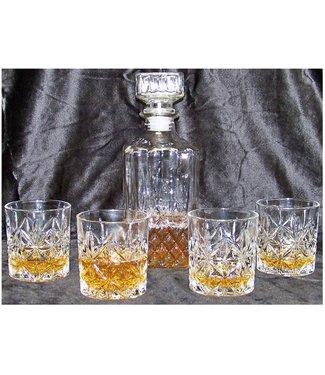 Ceruzo Whiskeyset - karaf met 4 glazen