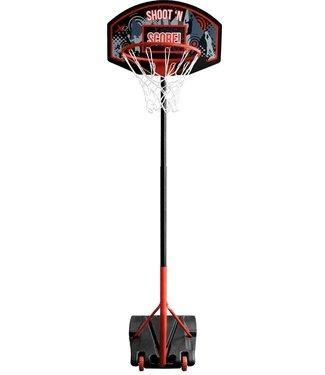 XQ Max Basketbal standaard - in hoogte verstelbaar - verrijdbaar