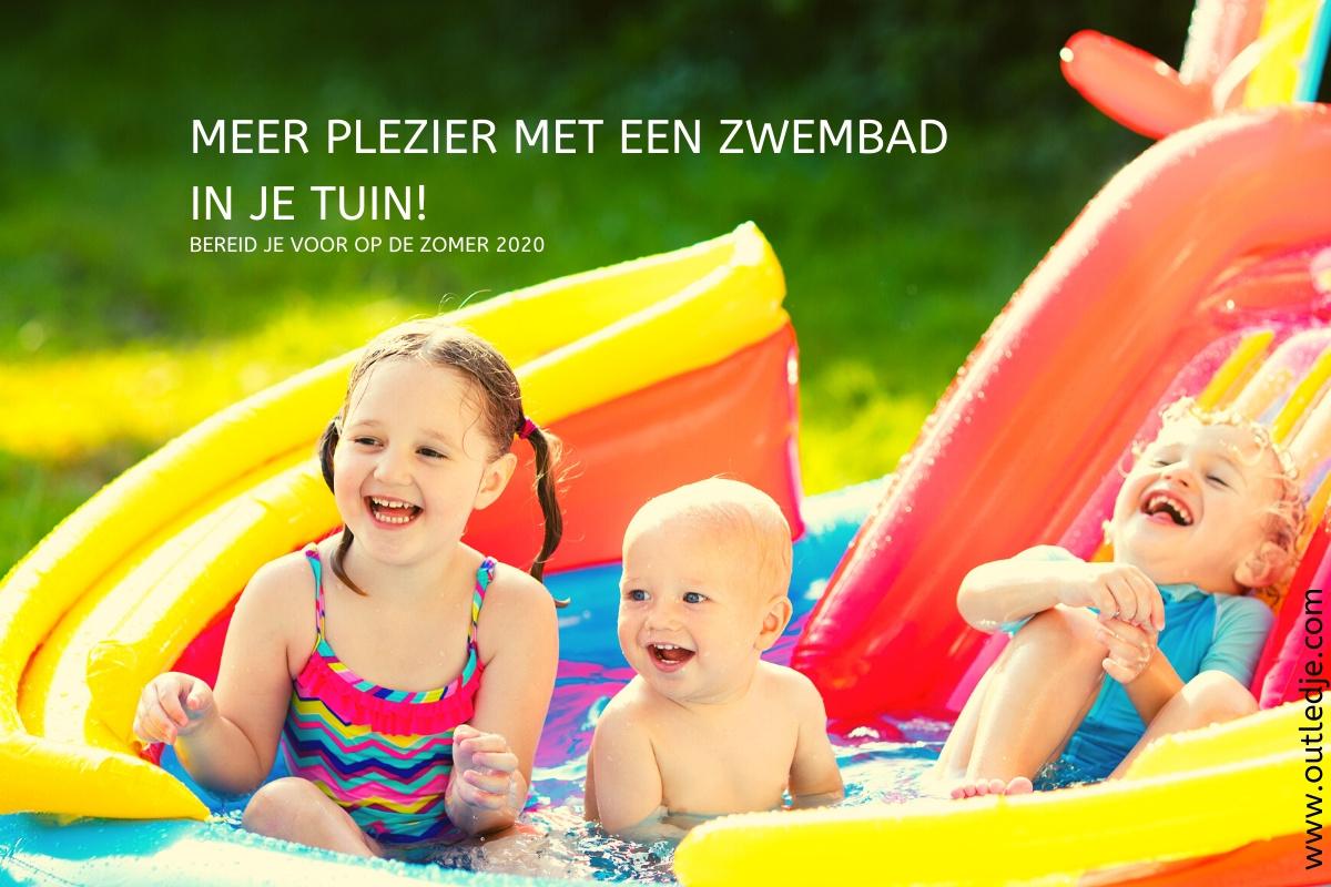 Meer plezier met een zwembad in je tuin!
