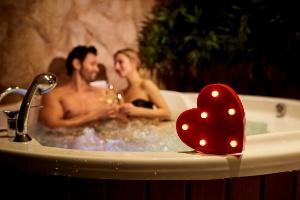 Zwembad voor romantische avonden