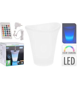 LED Wijnkoeler - multicolour - afstandsbediening