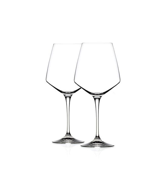 Witte Wijnglazen 390ml - Kristalglas - 2 stuks