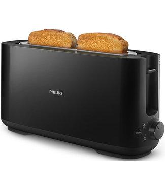 HD2590/90 - Broodrooster zwart