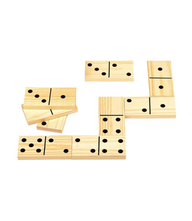 Outdoor Games Reuzen domino - hout