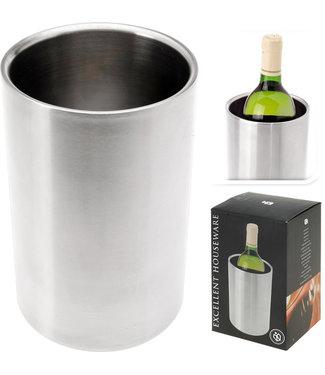 RVS Dubbelwandige wijnkoeler