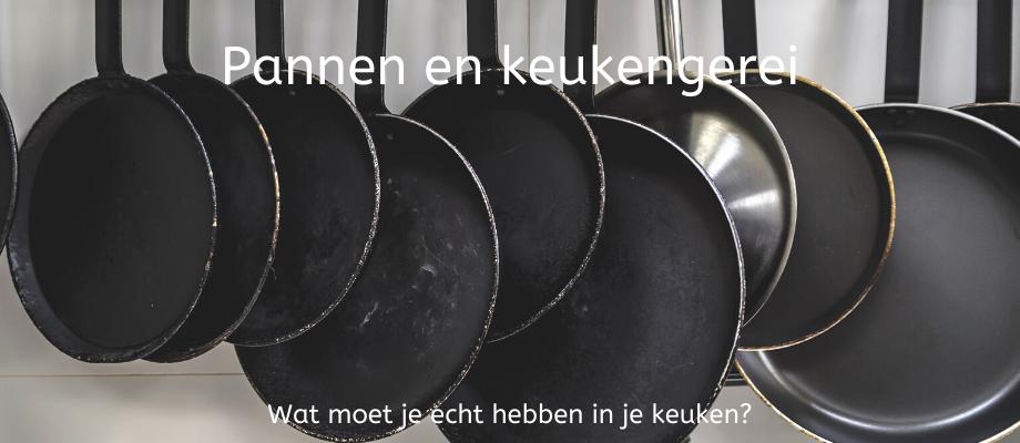 Pannen en keukengerei