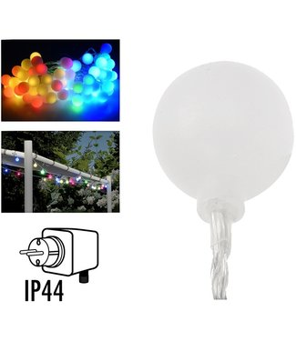 Feestverlichting 16 meter - 80 multikleur LED lampen