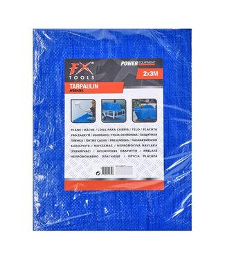 FX Tools Afdekzeil blauw- 2x3 meter