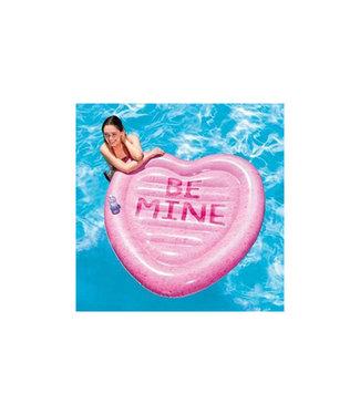 Intex Luchtbed Candy Heart Island - 145cm