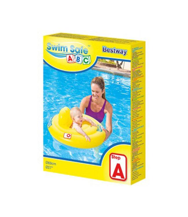 Babyzitje 69cm I Zwemband voor baby I Zitje voor baby I