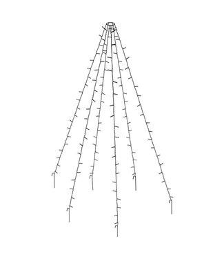 Vlaggenmast verlichting 360 LED's - 800cm