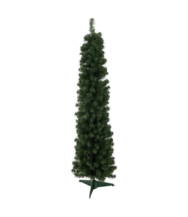 Kerstboom smal - Hoogte 150 cm I smalle kerstboom I