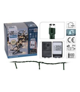 LED-verlichting met App bediening - 480 LED's - 48 meter - warm wit