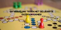Ga verveling tegen met de leukste outdoor games!