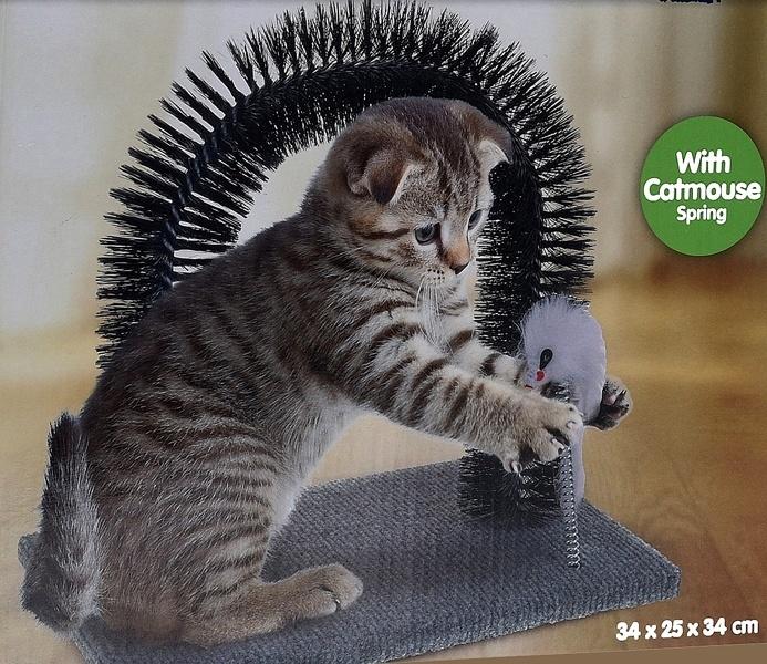Katten speelset met springmuis