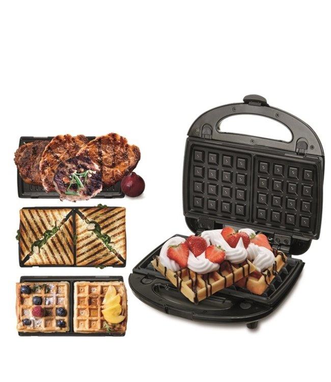 CR3024 - Grill, sandwich en wafelmaker - 3in1