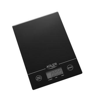 AD3138 - Keukenweegschaal zwart
