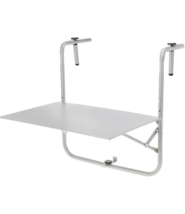 Balkontafel 60x43cm - mat grijs