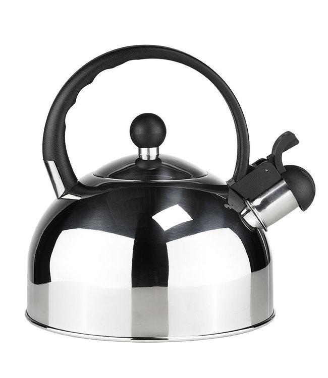 Fluitketel - rvs - 2.5 liter