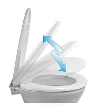 Toiletbril soft close - quick release