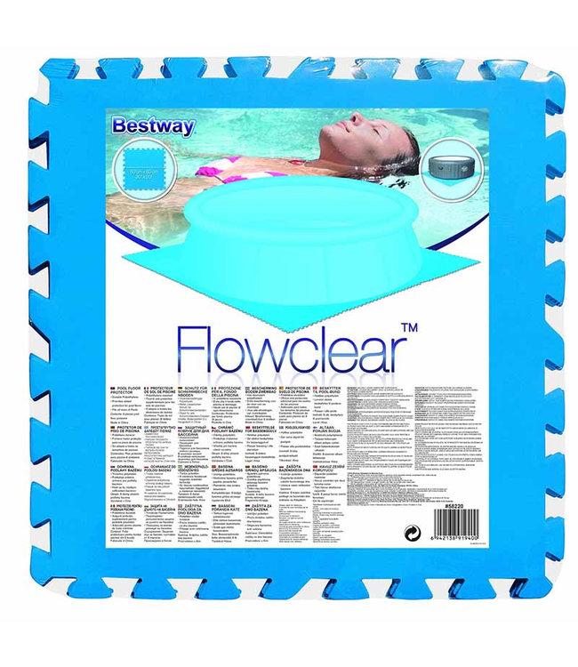 Flowclear - set van 9 vloertegels