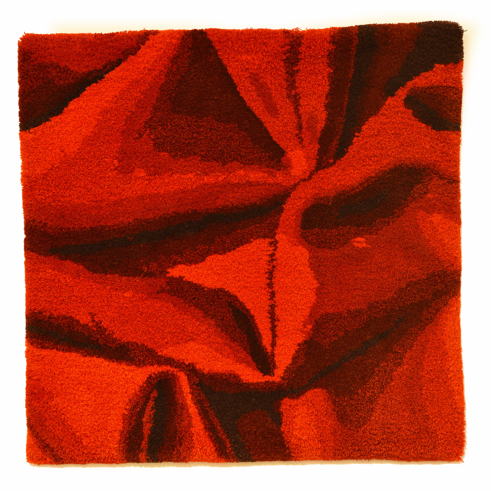 Vera Vermeersch Wandtapijt rood - Vera Vermeersch