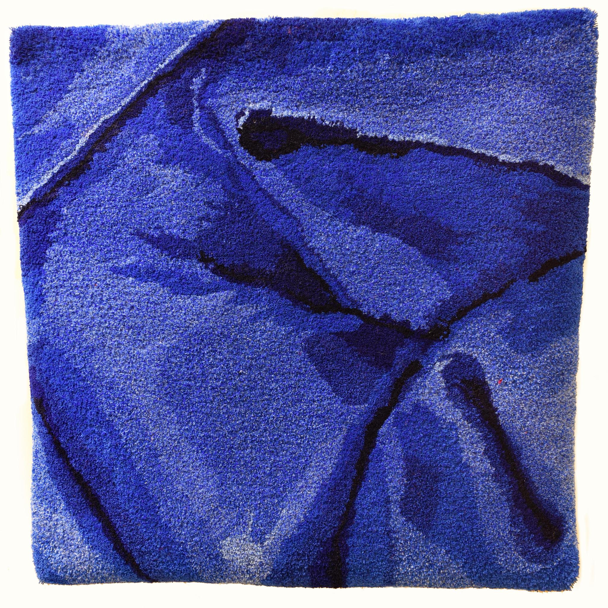Vera Vermeersch Wandtapijt blauw - Vera Vermeersch