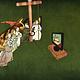 Tine De Groote Postkaart  De aanbidding van het Lam Gods - Tine De Groote