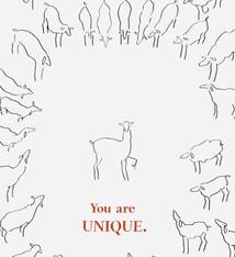 Sabien Clement Postcard Sabien Clement - You are unique