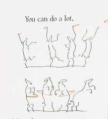 Sabien Clement Postcard Sabien Clement - You can do a lot
