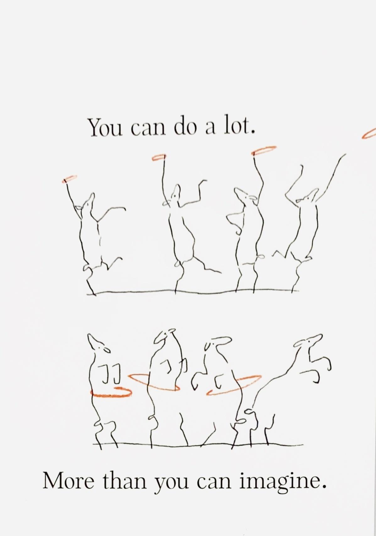 Sabien Clement Postkaart Sabien Clement - You can do a lot