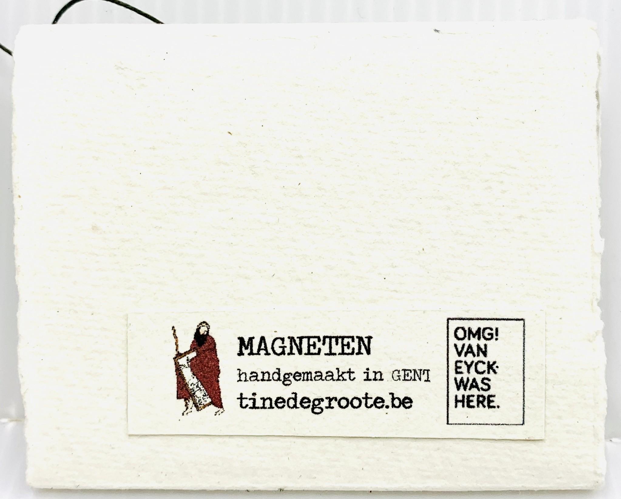 Tine De Groote Magneetset Van Eyck - Tine De Groote
