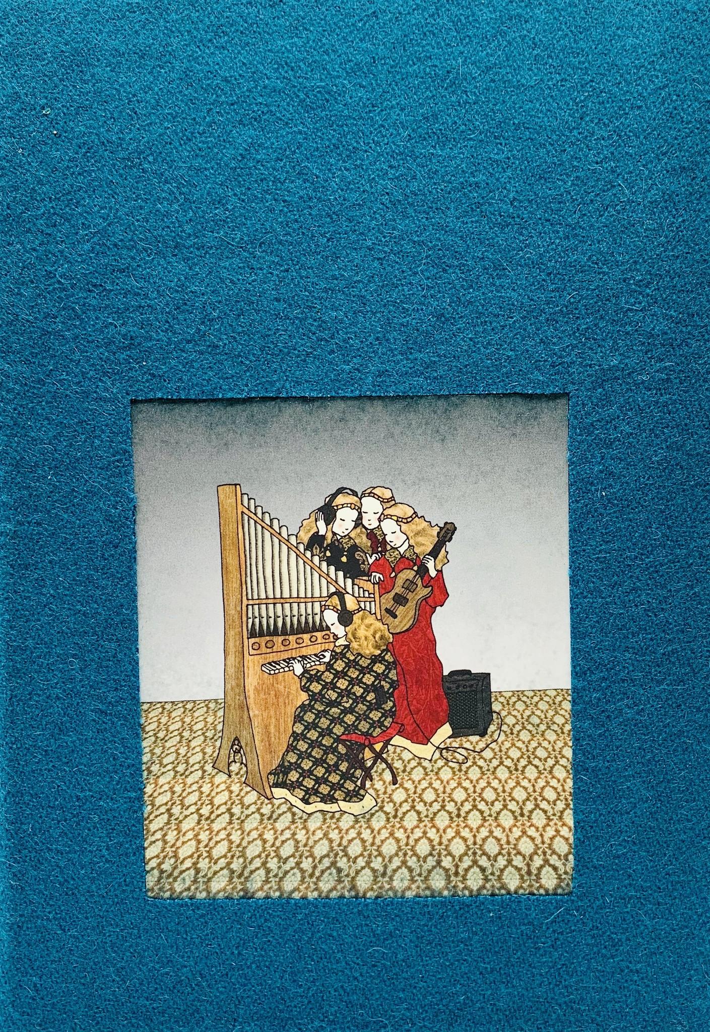 Tine De Groote Handgebonden geïllustreerd notaboek A5 - Tine De Groote