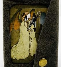Tine De Groote Handgebonden geïllustreerd notitieboekje - Tine De Groote