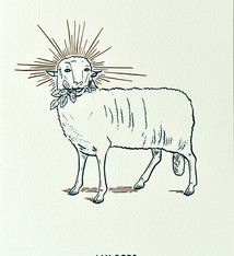 Blommm Luxury postcard Mystic Lamb - Blommm