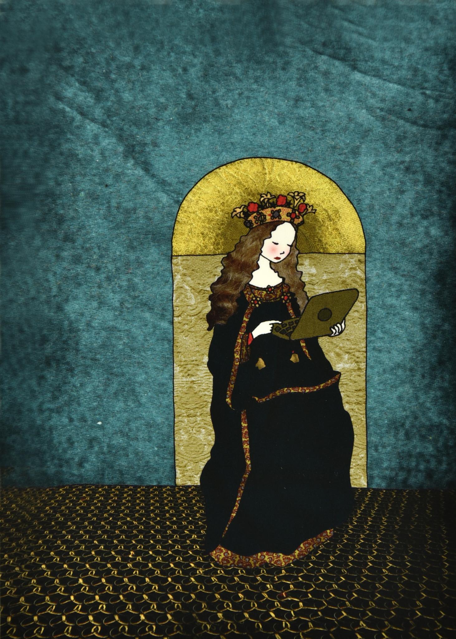 Tine De Groote Postcard  Mary - Tine De Groote