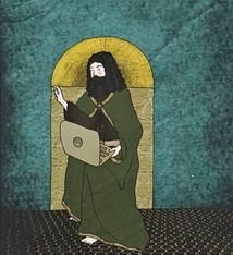 Tine De Groote Postcard John the Baptist - Tine De Groote