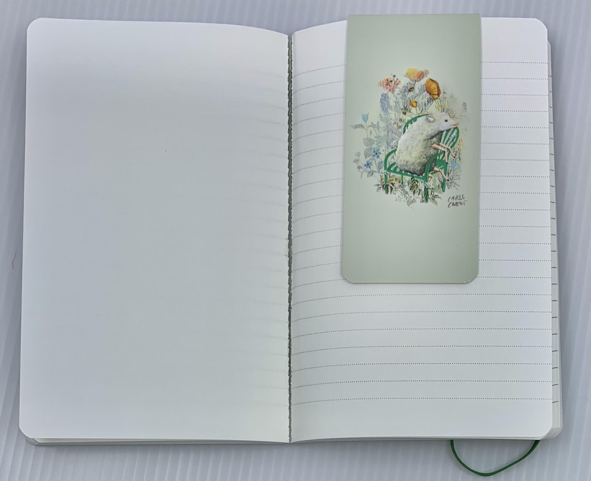 Carll Cneut Notitieboekje  A6 - Carll Cneut