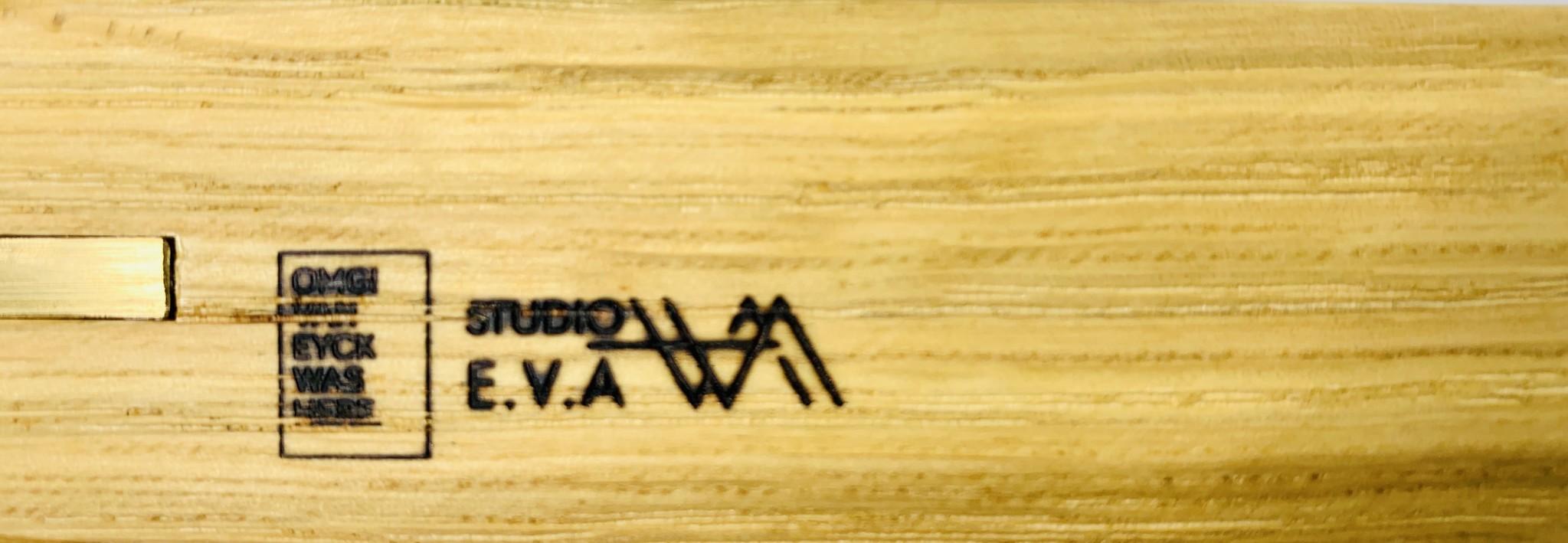 Studio E.V.A Dubbelzijdig eiken dienblad - Studio E.V.A