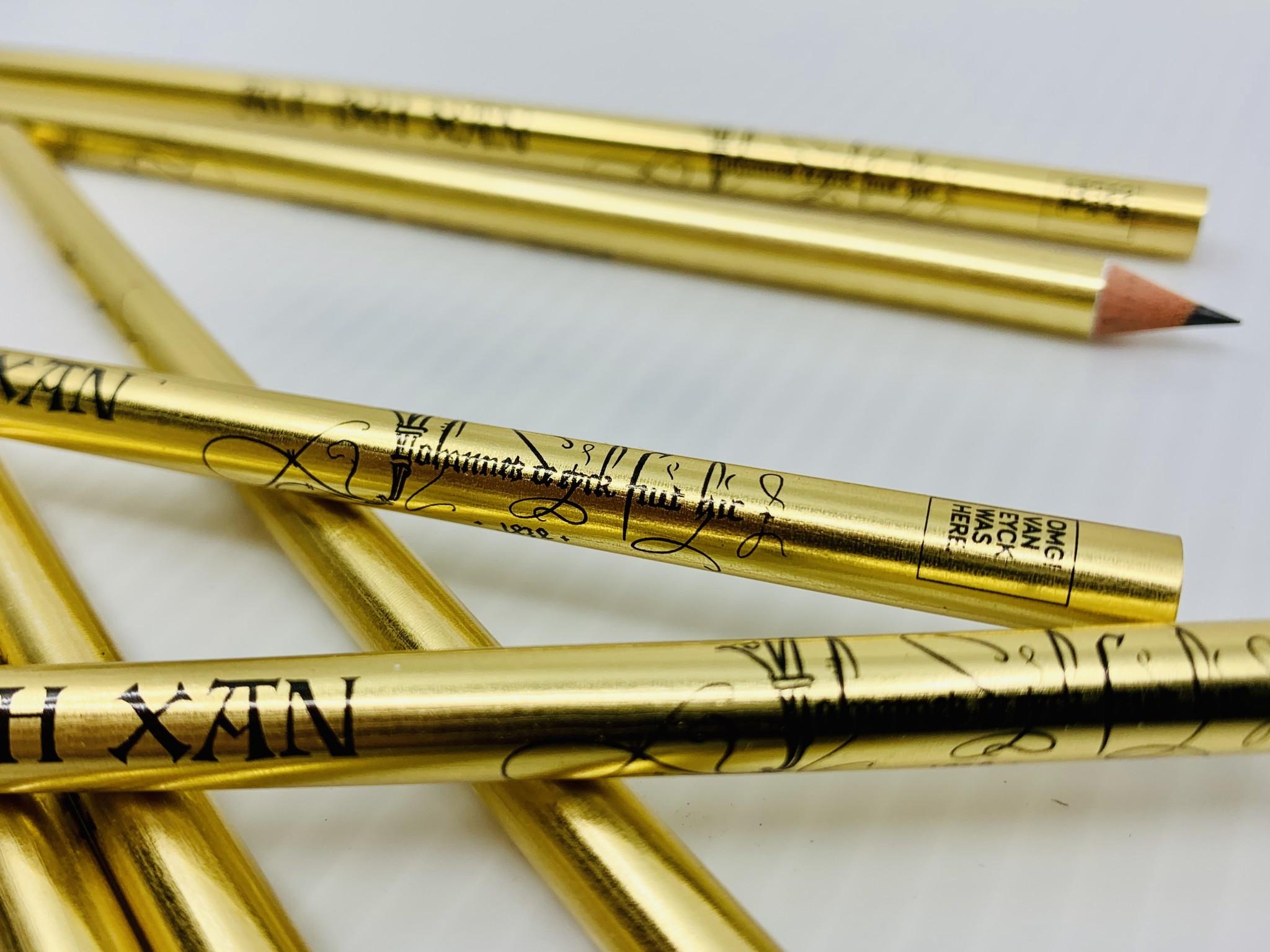 Van Eyck shop Pencil with signature and motto Van Eyck