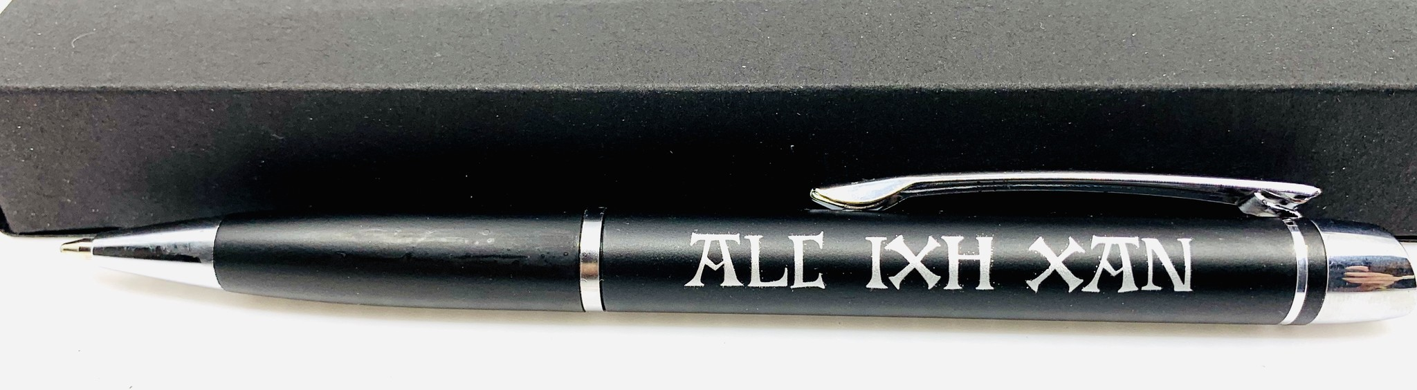 Van Eyck shop Balpen ALC IXH XAN - motto Jan Van Eyck