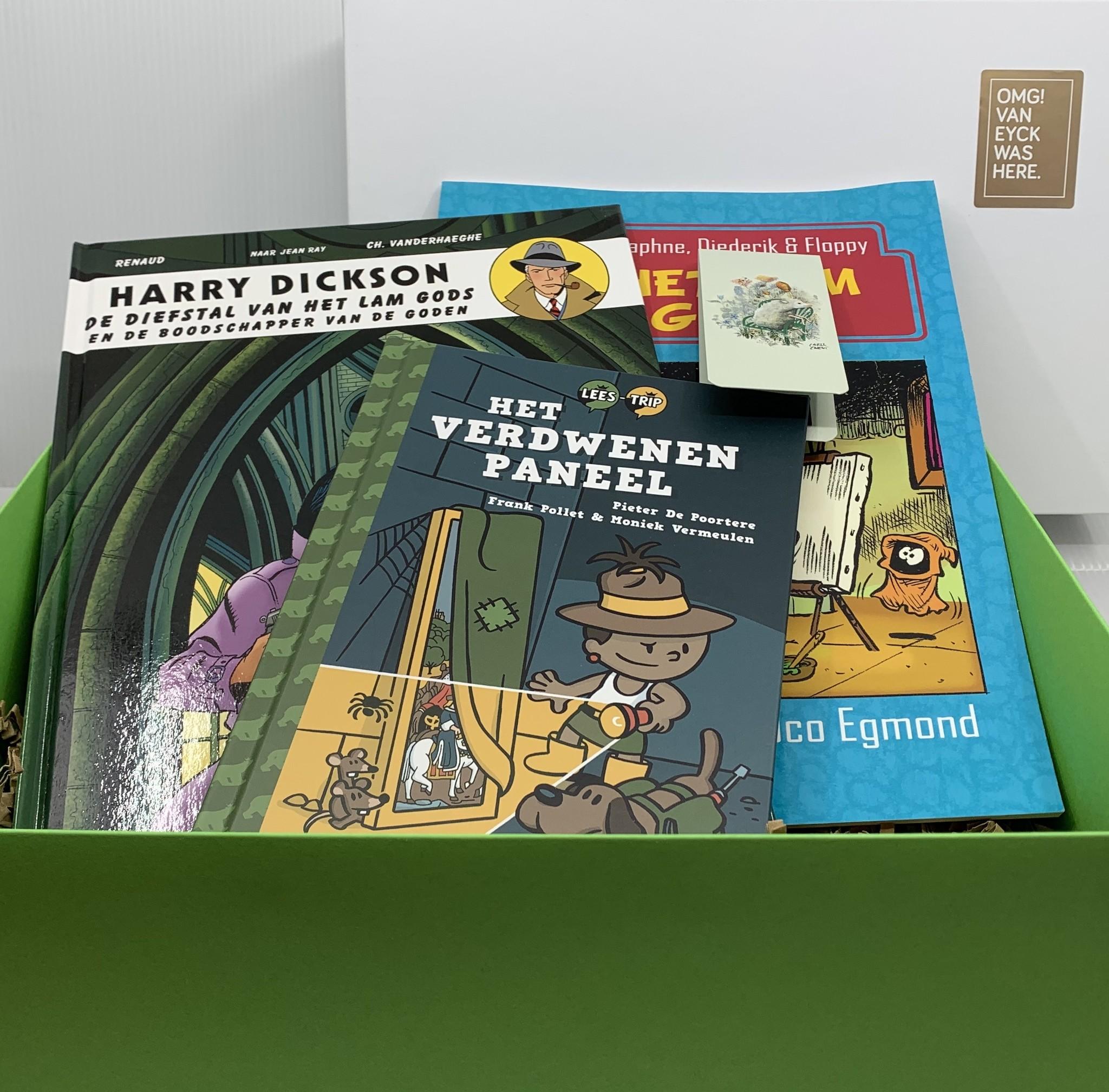 Van Eyck shop Cadeaupakket 'Boekenwurmpje': originele kinderboeken rond Van Eyck