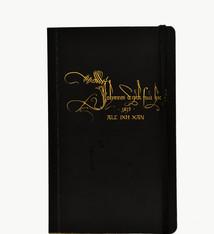 Van Eyck shop Notitieboekje met handtekening en motto van Jan Van Eyck