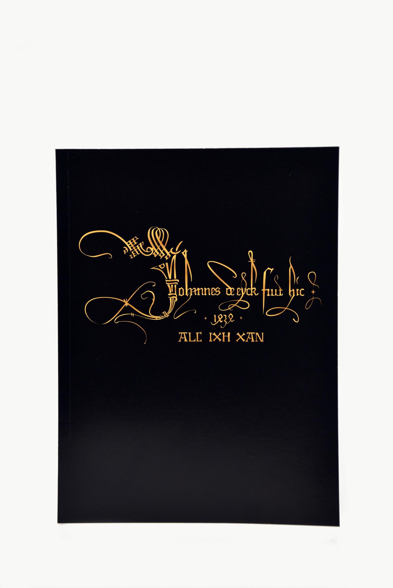 Van Eyck shop Schetsboekje 'Van Eyck' met handtekening en motto van Jan Van Eyck